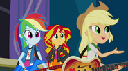 """Applejack """"one group who won't stand in the way"""" EG2"""