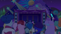 Crowd watching DJ Pon-3 at music festival CYOE12