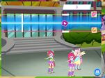 MLP game EG minigame dancing to Opening Theme