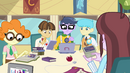 Canterlot High School techies EG