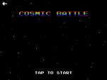 "MLPEG app Cosmic Battle mini-game ""tap to start"""