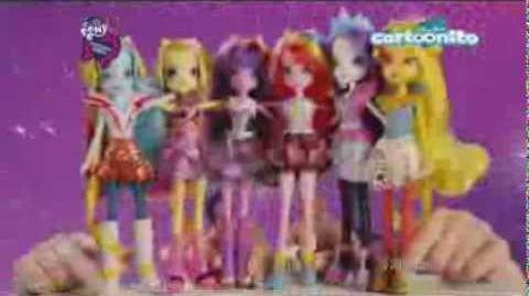 Spot Bambole My Little Pony Equestria Girls - Rainbow Rocks
