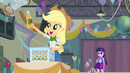 Applejack picks up a cider bottle EG
