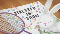 Stressed in Show title card CYOE4