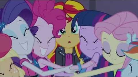 MLP Equestria Girls Rainbow Rocks - Kim Jest Sunset Shimmer?
