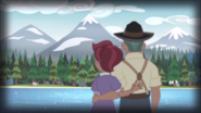 EG4 Pradziadkowie Timbera i Gloriosy podziwiają widok