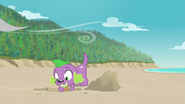 Spike digging a hole in the sand EGFF