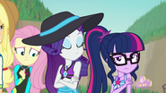 Sunset's friends turning away from her EGFF