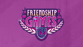 Friendship Games animated shorts logo EG3