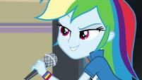 """Rainbow Dash """"but none can make"""" EG3"""
