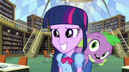 Twilight Sparkle hopeful grin EG