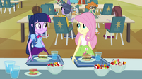 Fluttershy happy to help Twilight EG