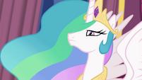 Princess Celestia with a stern expression EGFF