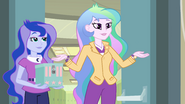 "Celestia and Luna ""Fall Formal is back on"" EG"