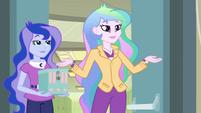 "Celestia and Luna ""Fall Formal is back on"" EG"
