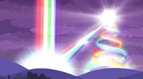 Rainbow energy ignites in the distance EG2