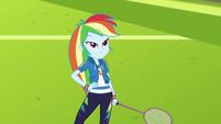 Rainbow Dash smiling proud at Twilight CYOE4b