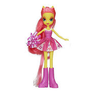 Equestria Girls Fluttershy Pep Rally doll