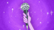 Microphone in Twilight's hand EG2