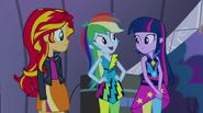 "Rainbow ""Twilight is going back to Equestria soon"" EG2"