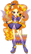 Adagio Dazzle Rainbow Rocks character bio art