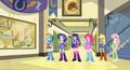 Equestria Girls - Main ponies designs.png