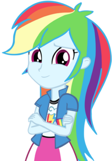 Human rainbow dash vector by cool77778-d65ehrk