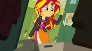 Sunset Shimmer opens her locker EG2
