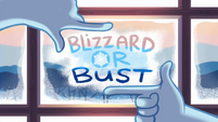 Blizzard or Bust title card EGHU