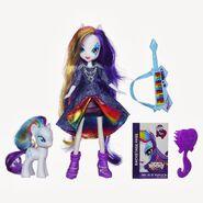 Lalka Rainbow Rocks z kucykiem - Rarity z instrumentem