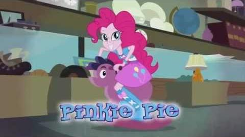 MLP Equestria Girls Rainbow Rocks - Kim jest Pinkie Pie?