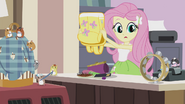 Fluttershy sees rolling tambourine EG2