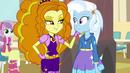 Adagio Dazzle singing next to Trixie EG2