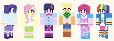 D7d9a9ffefd70b2a2a7b39c5e5022393--mlp-my-little-pony-minecraft-skins