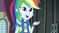 "Rainbow Dash ""anybody have any guesses"" EG3"