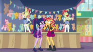 Flim and Flam offended by Sunset's words EGROF