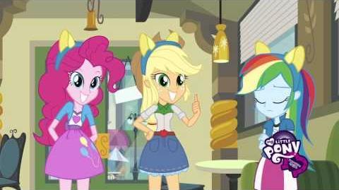 My Little Pony Equestria Girls - Poznaj Applejack