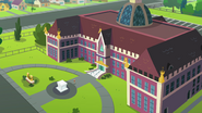 Bird's-eye view of Canterlot High School EGFF