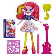 Zabawka Rainbow Rocks - Pinkie Pie z sukienką do kolorowania