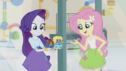 Fluttershy asking hamsters to talk it over EG2