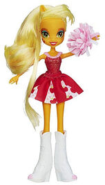 Applejack Equestria Girls pep rally doll