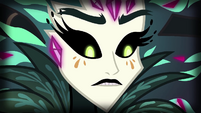 Gaea Everfree's expression softens EG4