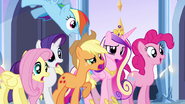 "Main five and Cadance ""dancing?!"" EG"