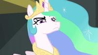 Princess Celestia looking annoyed EGFF