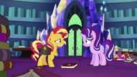 Sunset Shimmer unable to pick up her new journal EGS3