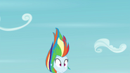 Rainbow Dash falls out of the sky EG3