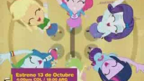 Estreno DK - My Little Pony Equestria Girls (LatAm)