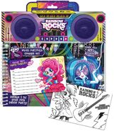 Rainbow Rocks music portfolio speaker set
