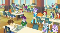 Canterlot High school cafeteria EG2