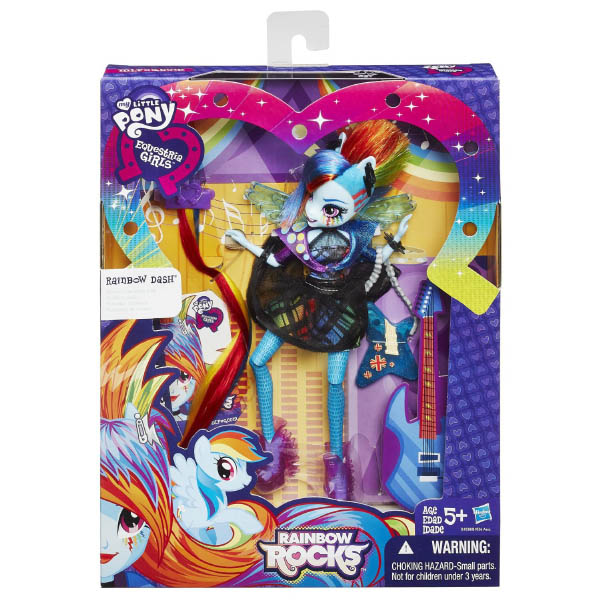Rainbow Rocks Dash Rockin Hairstyle Packaging